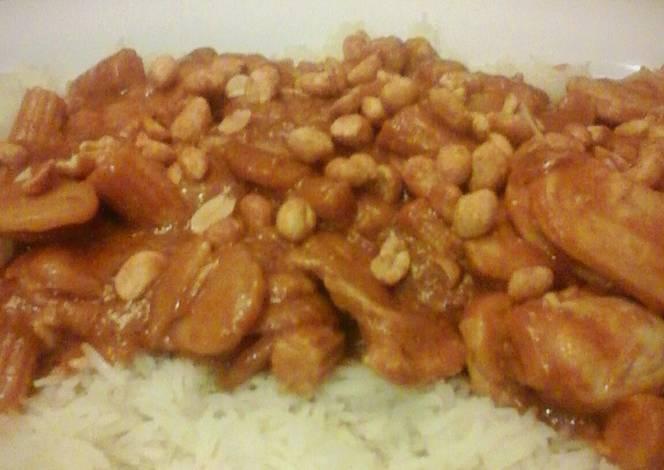 Resep Thai Peanut Sriracha Chicken