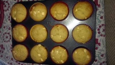 Easy Banana Choc Chip Muffins