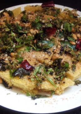 Spicy Gujarati Dokhla