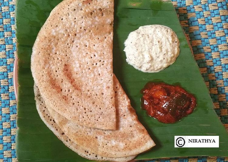 Pearl Millet Dosa