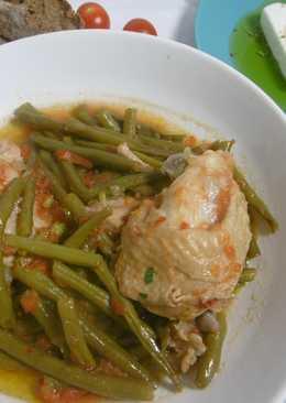 Chicken & Green Bean Pot Stew