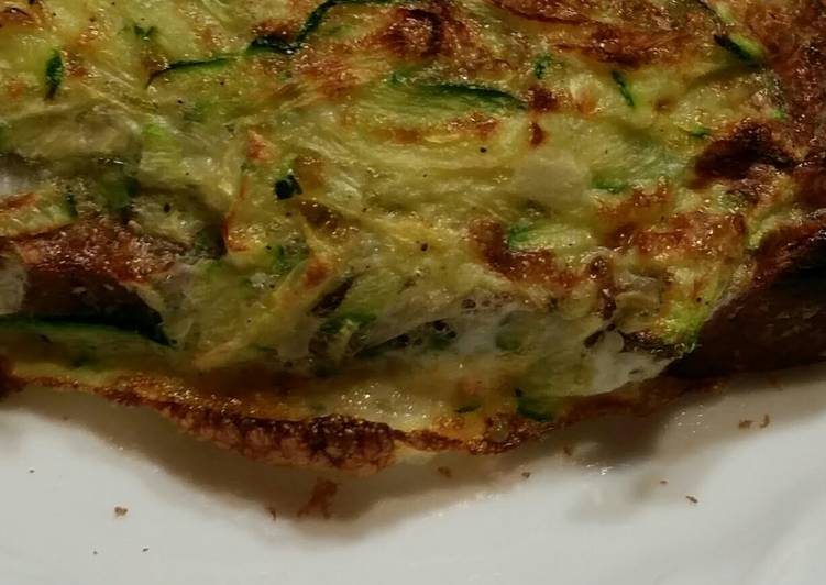 Zucchini, Egg, and Cheese Toast Recipe by Jenny - Cookpad