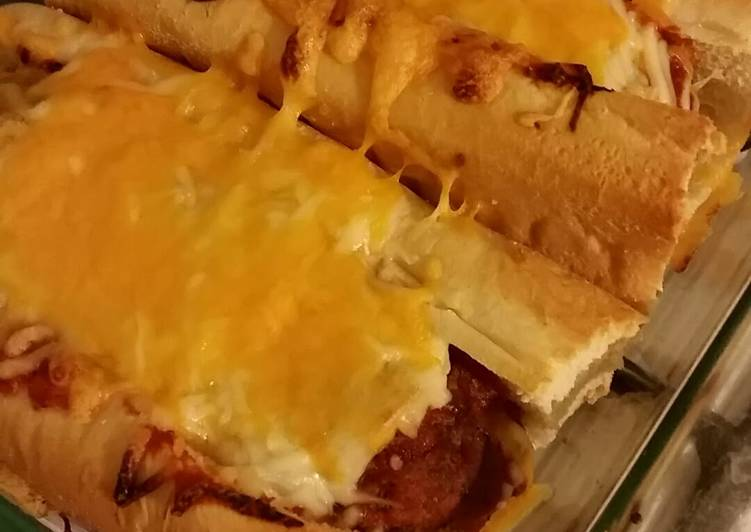 Oven baked meatball sub recipe