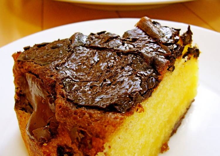 Butter Cake Recipe Japanese: So Easy! Moist Chocolate Butter Cake Made With Pancake Mix