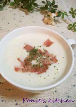 Superb Winter Melon and Bacon Potage Soup
