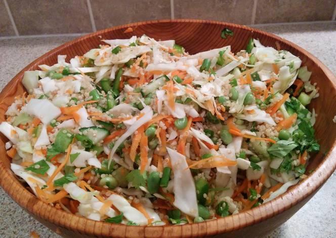 Asian Quinoa Salad Recipe by Lil_MommaCookpad