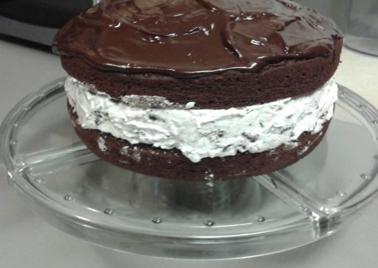 Oreo Cookie Birthday Cake Recipe By 416sandra Cookpad