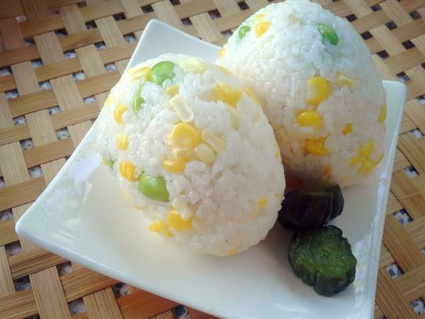 Rice with Corn&Edamame