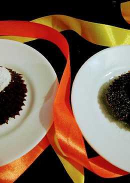 Eggless Choco lava muffins