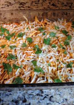 Nacho Cheese Dorito Casserole
