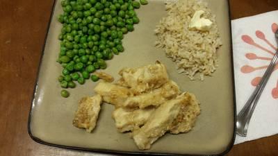 Healthy lemon garlic chicken