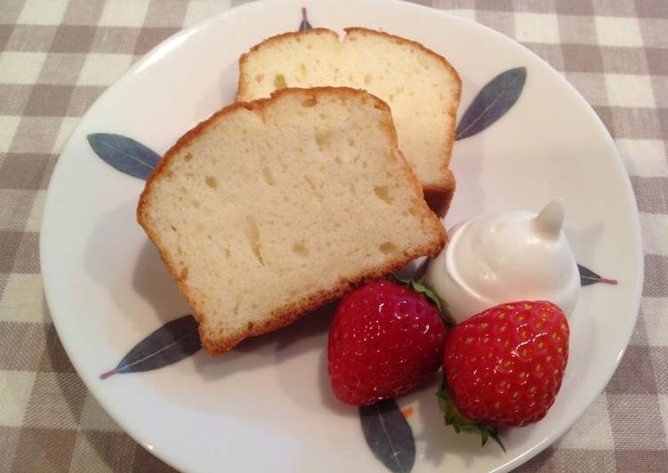 Egg White Pound Cake Recipe By Cookpad Japan Cookpad