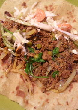 Turkey Keema Paratha Wrap