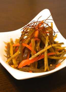 A Treasured Recipe! My Kimpira Burdock Root