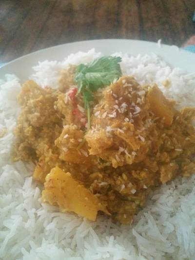Chicken and Pineapple Curry