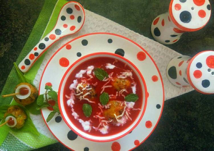 Healthy mix veggie soup with veggie maggie dumplings recipe by aarti healthy mix veggie soup with veggie maggie dumplings forumfinder Image collections
