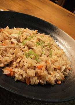 Easy & Delicious Rice with Chicken and Burdock Root