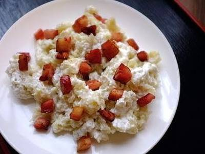Bacon and Cheese Halusky