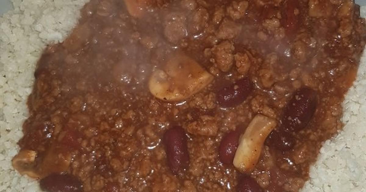 Quorn Chilli Con Carne >> Quorn Chilli Con Carne With Cauliflower Rice