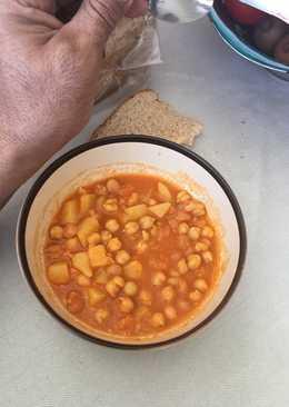 resep masakan chickpeas and potato soup