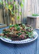 Thai beef salad (nam tok neuha)