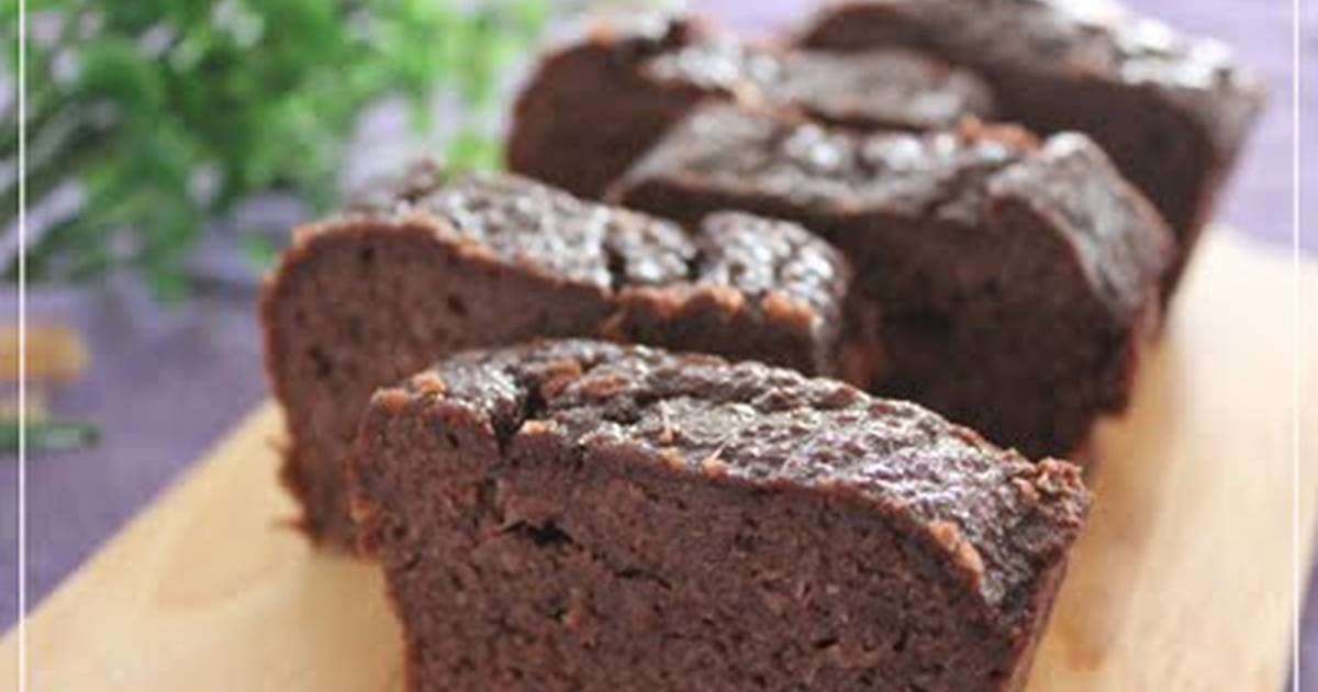 Chocolate Cake Recipe Japanese: Chocolate Cake With Okara Recipe By Cookpad.japan