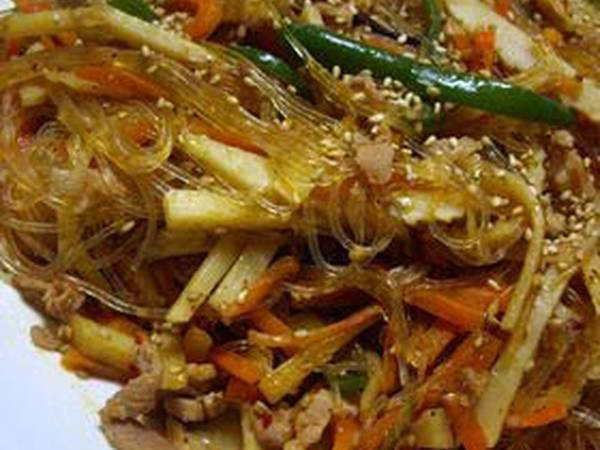 Delicious and Flavorful Japchae