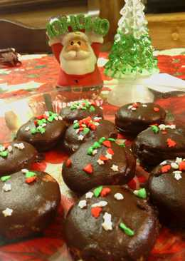 sunshine 's christmas chocolate peanutbutter cookies