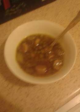 Vegetarian Pea & Sausage Soup