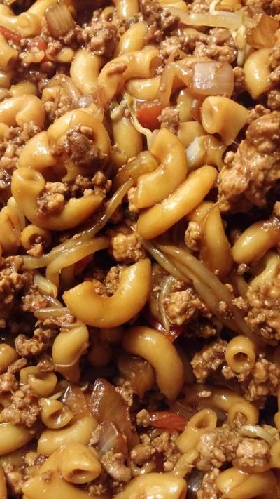 Chinese Style Macaroni