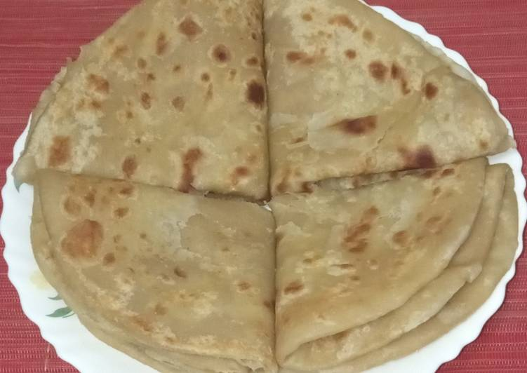 PARATHA #localfoodcontest_mombasa Recipe by Ann David - Cookpad