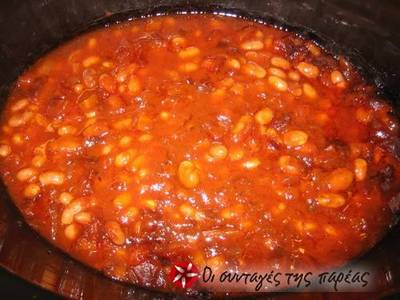 Bean soup in the slow cooker