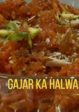 Gajar ka halwa without condensed milk