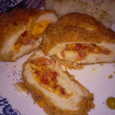 Bacon chedder stuffed chicken recipe by mariajscaggs cookpad forumfinder Images