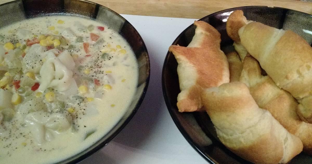 Tortellini chowder recipes - 2 recipes - Cookpad