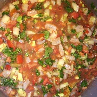 Mexican style shrimp ceviche recipe by crabby patties cookpad forumfinder Images