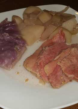 Classic Cold Day Corned Beef Dinner