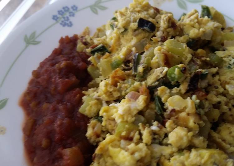 Good Morning Healthy Breakfast Scramble Recipe By Jesusprovides