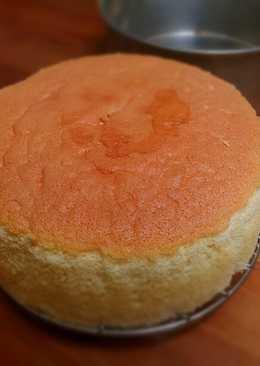 Light And Moist Sponge Cake