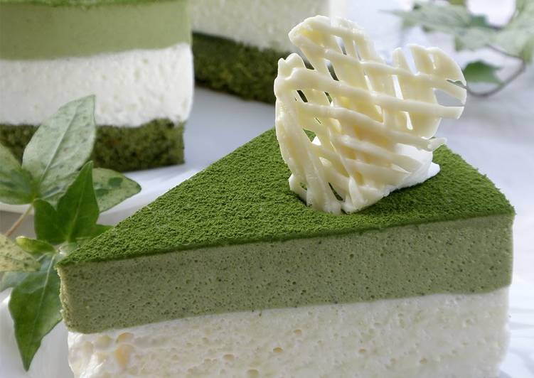 Green Tea Cake Recipe Japanese: Green Tea And White Chocolate Mousse Cake Recipe By
