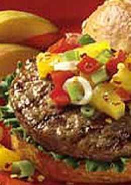 Tropical Veggie Burgers