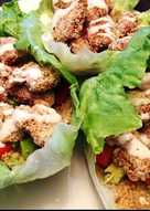 Steak Sauce Chicken Lettuce Wraps