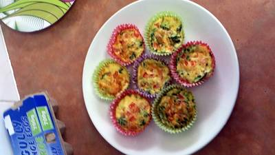 toddler cupcake quiches