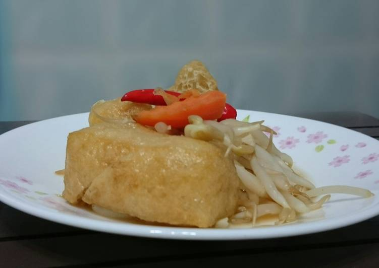 Bean Sprouts And Bean Curd Puff Recipe by Lee Goh - Cookpad