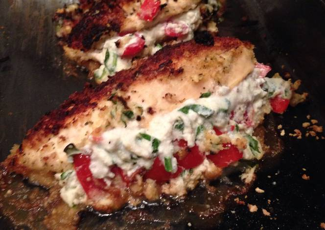 Chicken breast spinach and ricotta recipe