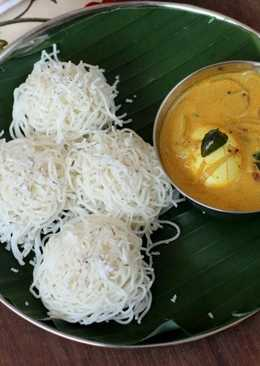 Idiyappam (Kerala Style String Hoppers)