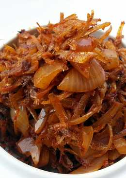 Spicy Fried Dried Anchovies /Sambal Ikan Bilis