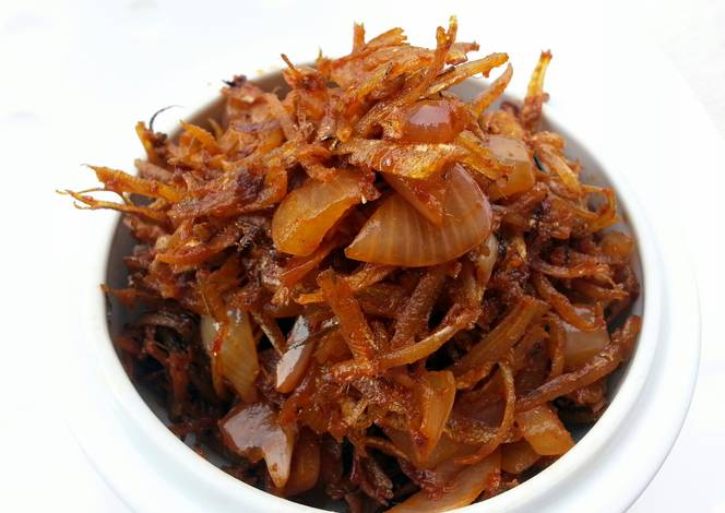 Spicy Fried Dried Anchovies /Sambal Ikan Bilis Recipe by Lee Goh ...