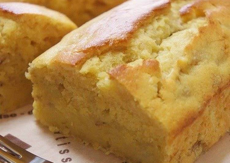 Banana Cake Recipe Japan: Moist And Delicious Yogurt Banana Cake Recipe By Cookpad