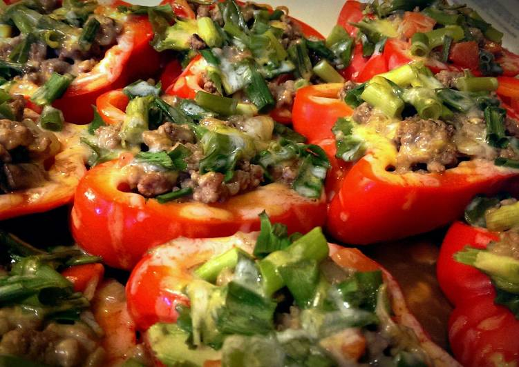 stuffed bell peppers without rice